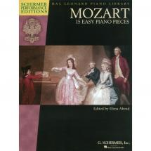 G. Schirmer - W.A. Mozart - 15 Easy Piano Pieces 15 Easy Piano Pieces