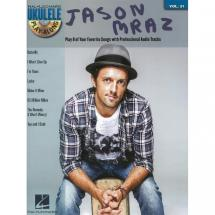 Hal Leonard - Ukulele Play Along Vol. 31 - Jason Mraz