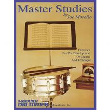 MusicSales - Joe Morello - Master Studies