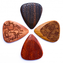 Timber Tones Laser Tones Grip Mixed 4er-Pack