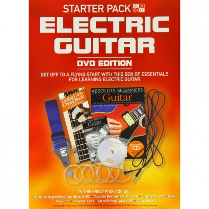 MusicSales In A Box Starter Pack: Electric Guitar (DVD Edition)