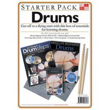 MusicSales In A Box Starter Pack: Drums (DVD Edition)