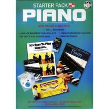 MusicSales In A Box Starter Pack: Piano (DVD Edition)