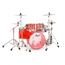 Pearl CRB504P/C731 Crystal Beat Acrylic Ruby Red, Fusion