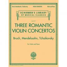 G. Schirmer - G. Schirmer - Three Romantic Violin Concertos