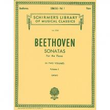 G. Schirmer - Ludwig van Beethoven - Sonatas for the Piano Vol. 1