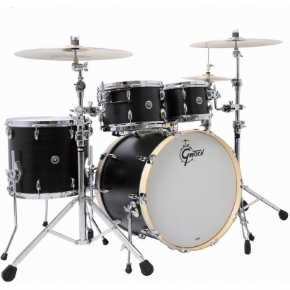 Gretsch Drums GB-E8246-SDE USA Brooklyn Dark Ebony Kesselsatz