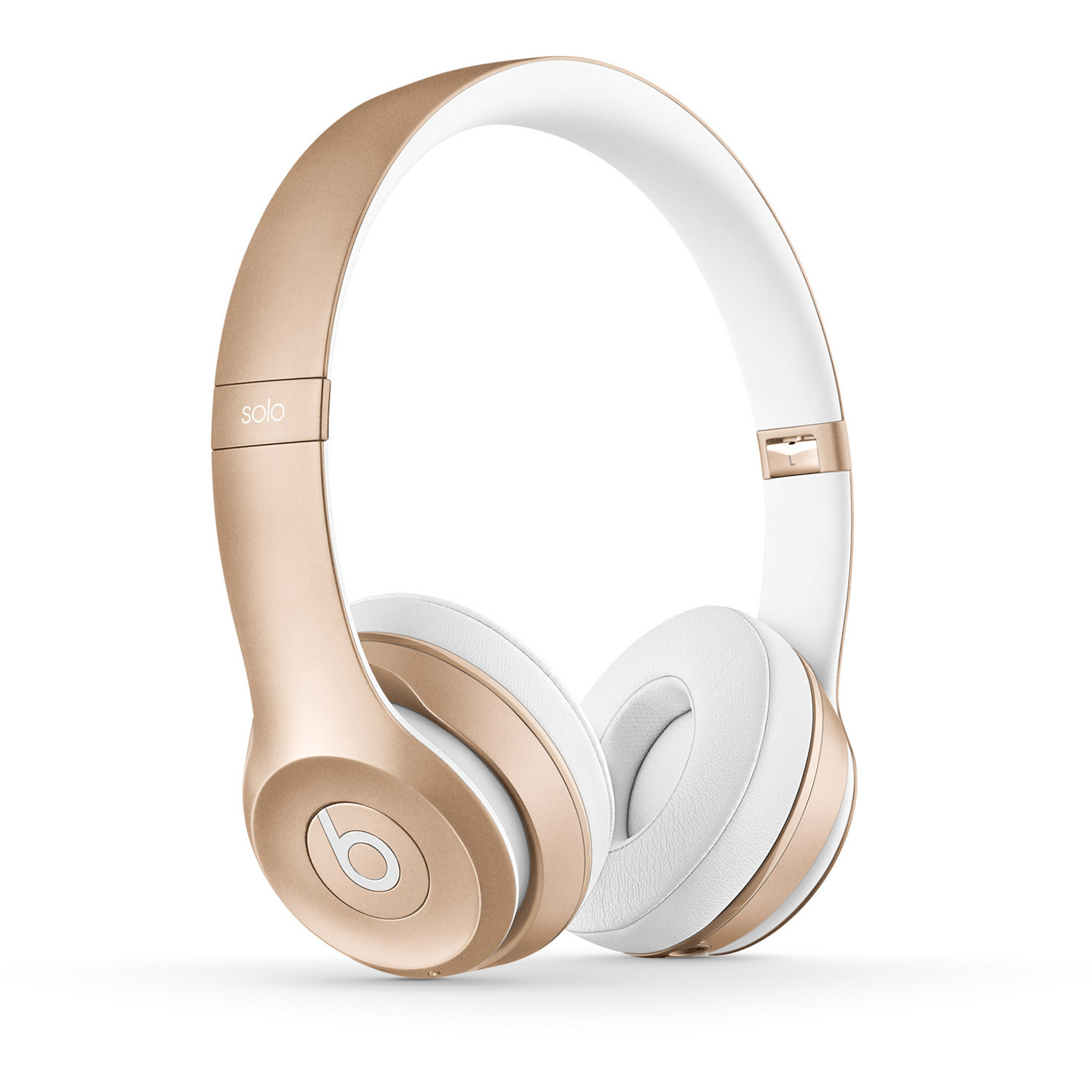 beats by dre solo2 wireless gold bluetooth kopfh rer. Black Bedroom Furniture Sets. Home Design Ideas