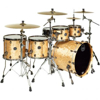 Mapex MXSV628B-MXN Saturn V MH Exotic Natural Maple Burl