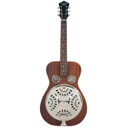 Recording King RR-51-BR Roundneck Resonator, Satin Brown