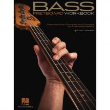 Hal Leonard - Chad Johnson -  Bass Fretboard Workbook