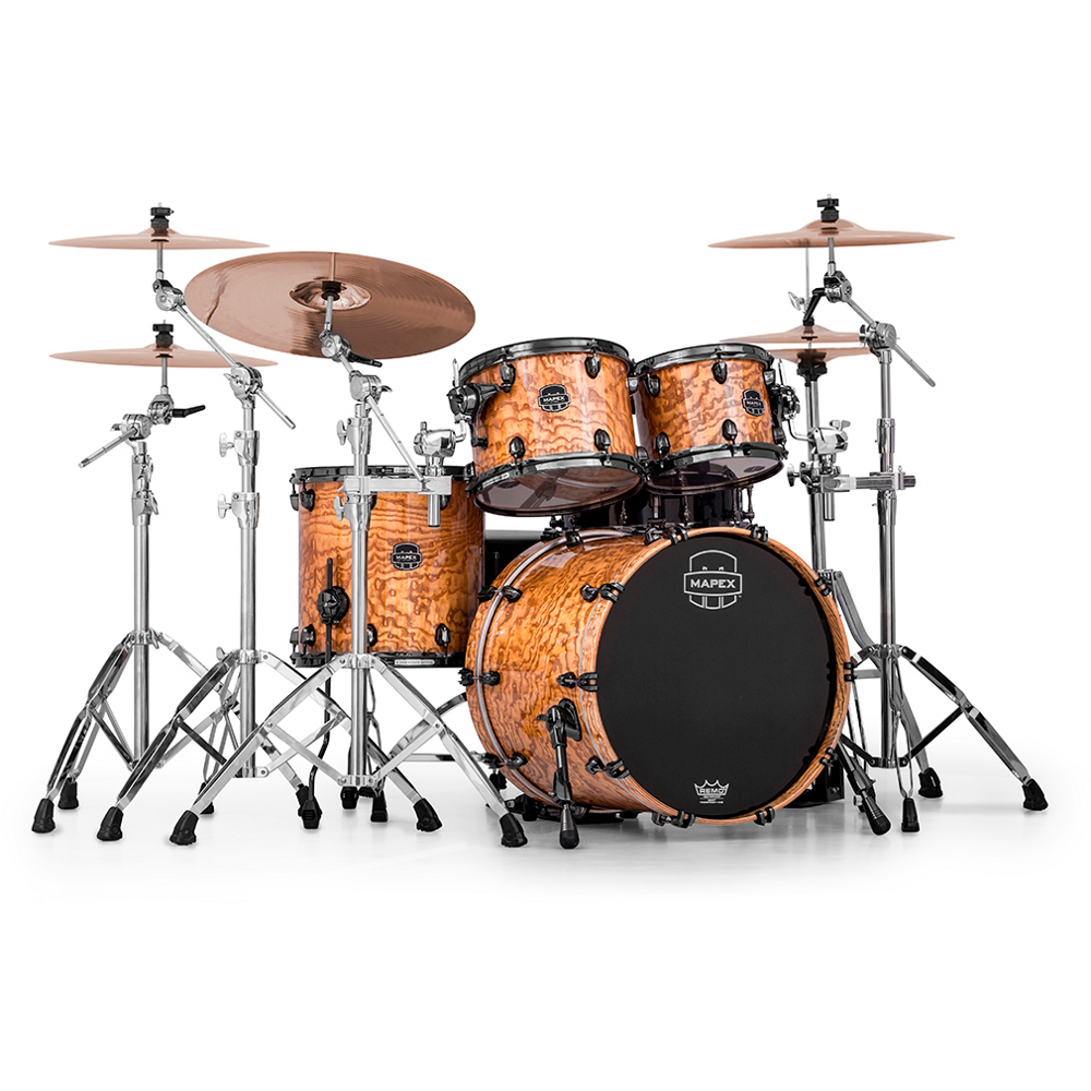 Mapex MXSV504B MNL Saturn V MH Exotic Amber Maple Burl