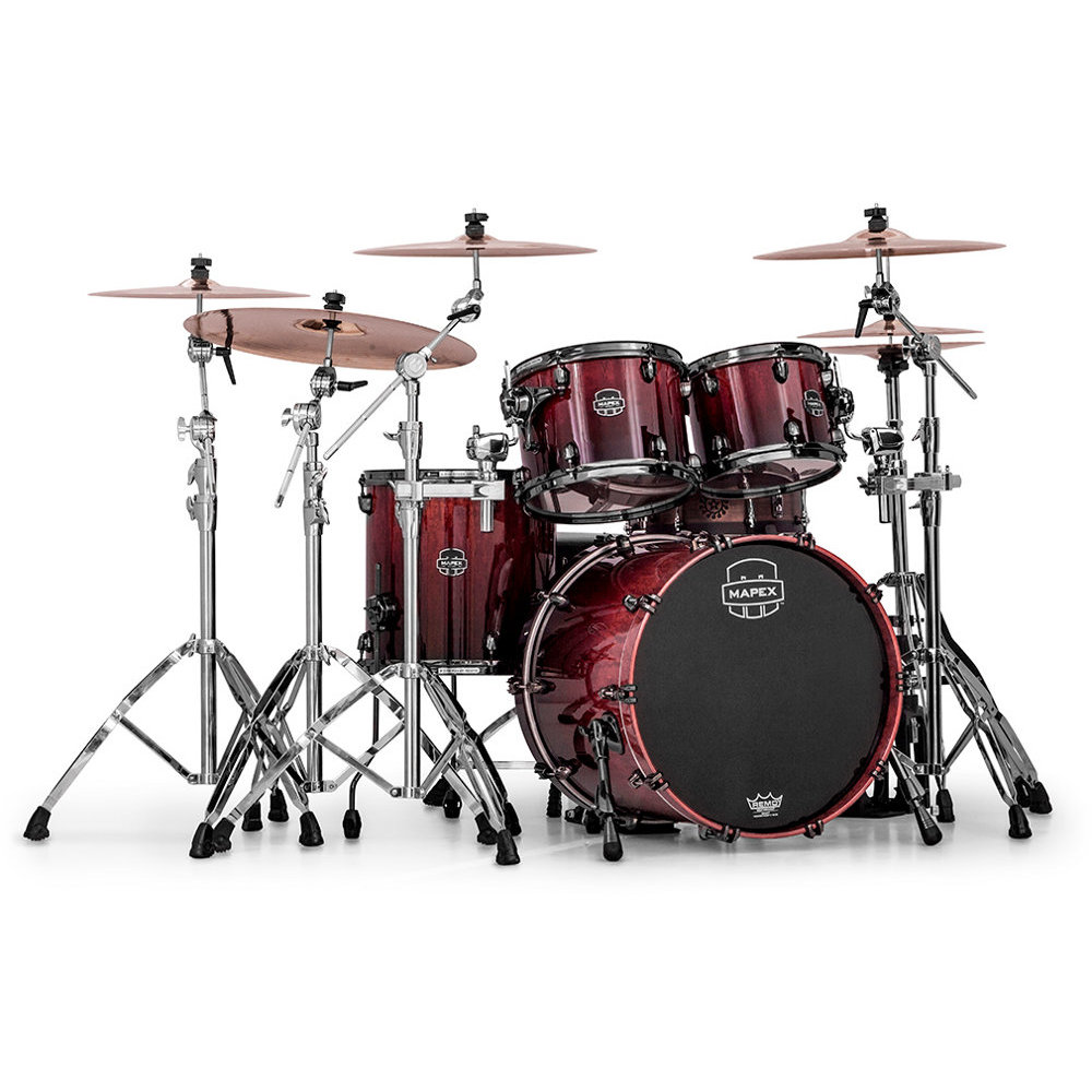 Mapex MXSV504B MLE Saturn V MH Exotic Cherry Mist Maple Burl