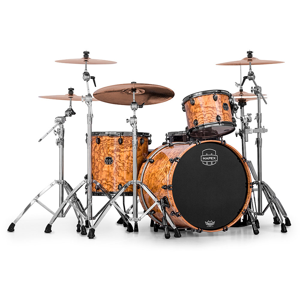 Mapex MXSV481B MXN Saturn V MH Exotic Natural Maple Burl