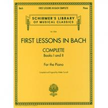 G. Schirmer - First Lessons in Bach (complete)