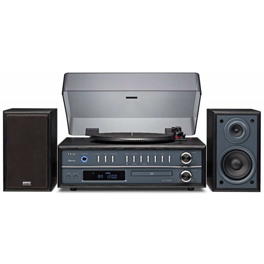 teac hifi lp p1000 b all in one stereo system schwarz. Black Bedroom Furniture Sets. Home Design Ideas