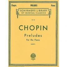 G. Schirmer - F. Chopin - Preludes for the Piano