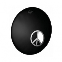 Remo DM-PC06-10 Peace Sign Dynamo Ring 6""