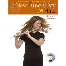 MusicSales - A new tune a day - Book 1 für Querflöte