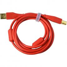 Dj TechTools Chroma Cable USB (gerade), 1,5 m, rot