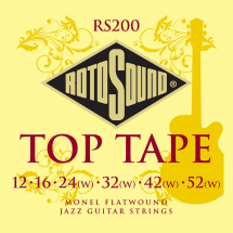 Rotosound RS200 Top Tape Set E-Gitarren Saitensatz 012-052