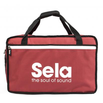 Sela SE 038 Cajon Bag, Red