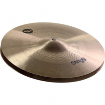 Stagg SH-HM14R SH Regular Medium Hi-Hat Becken, 14""