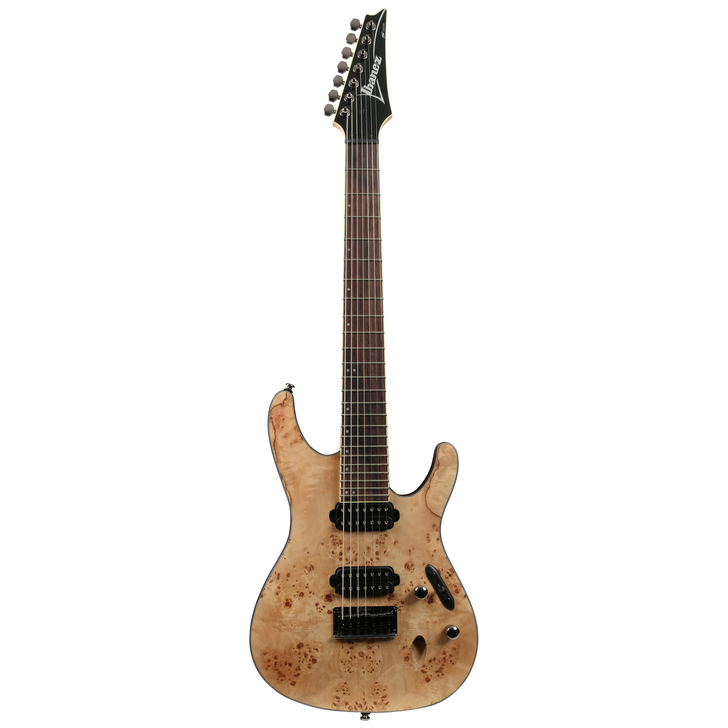 ibanez s7721pb natural flat 7 saiter e gitarre kaufen bax shop. Black Bedroom Furniture Sets. Home Design Ideas