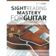 MusicSales - J. Alexander - - J. Alexander - Sight Reading Mastery for Guitar - englisch
