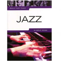 MusicSales Really Easy Piano Jazz