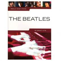 MusicSales Really Easy Piano The Beatles - Englisch