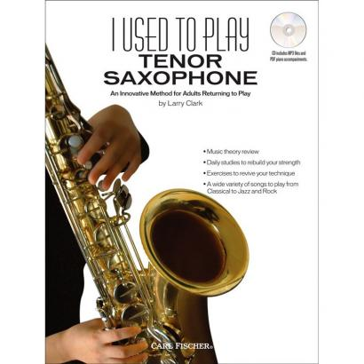 Carl Fischer - - I used to play Tenor Saxophone - englisch