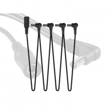 Xvive XCABLE-S4 Stromverteiler-Kabel, 1x male 4x female
