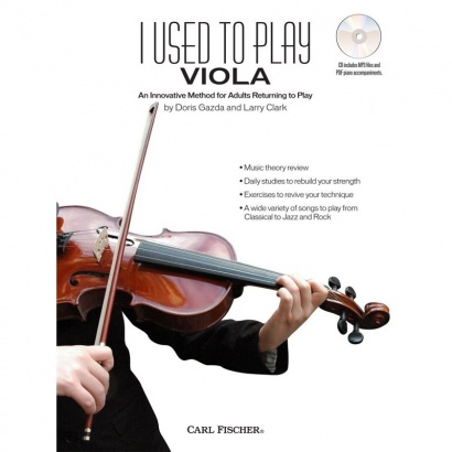 Carl Fischer - - I used to play Viola - englisch