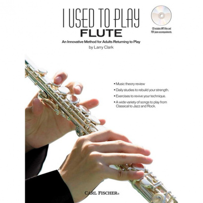 Carl Fischer - - I used to play Flute (englisch)