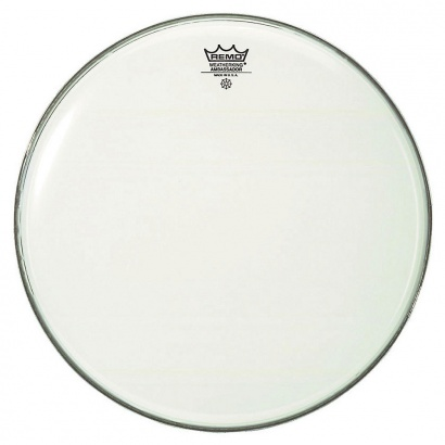 Remo BR-1226-00 Ambassador Smooth White Bassdrum-Fell, 26""