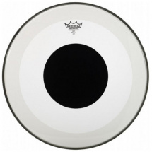 Remo P3-1322-10 Powerstroke 3 Black Dot Bassdrum-Fell, 22""