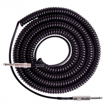 Lava Cable Retro Coil Black 6m (20 ft)