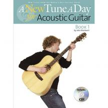 MusicSales - A new tune a day - - A new tune a day - Buch 1 für Akustikgitarre