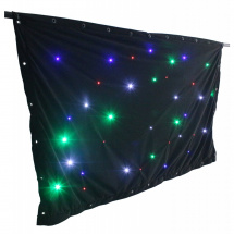 BeamZ SparkleWall LED36 RGBW 1 x 2 m mit Controller