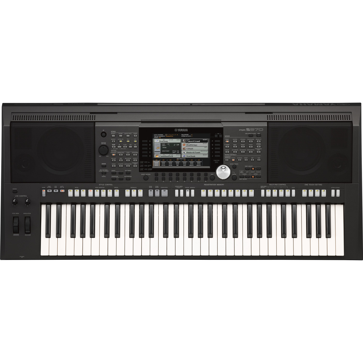yamaha psr s970 keyboard kaufen bax shop. Black Bedroom Furniture Sets. Home Design Ideas