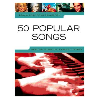 MusicSales Really Easy Piano 50 Popular Songs