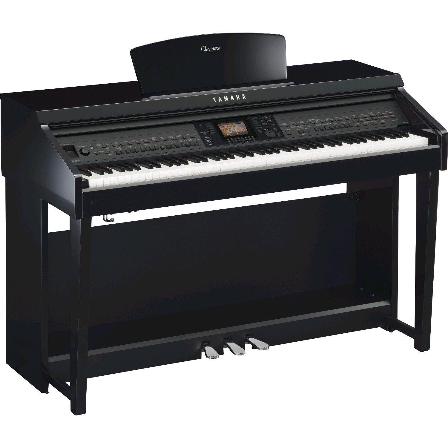 yamaha clavinova cvp 701pe polished ebony e piano kaufen. Black Bedroom Furniture Sets. Home Design Ideas