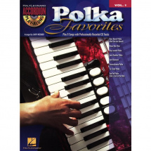 Hal Leonard - - Accordion Play-Along Volume 1: Polka Favourites Songbook (englisch)