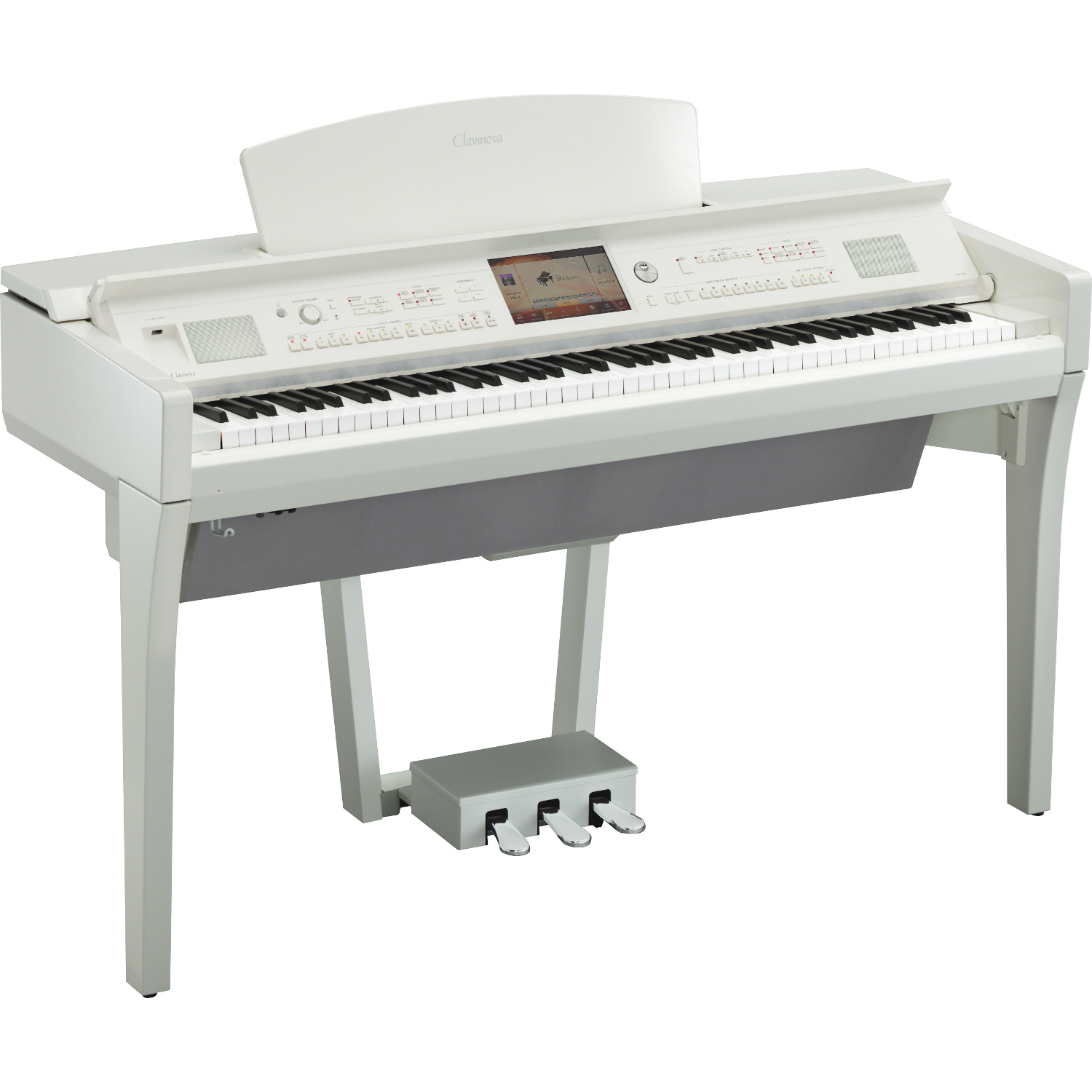 yamaha clavinova cvp 709wh polished white e piano kaufen. Black Bedroom Furniture Sets. Home Design Ideas