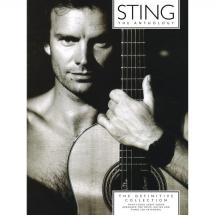 MusicSales - Sting Anthology - The Definitive Collection - Sting Anthology - The Definitive Collection, Songbook (englisch)
