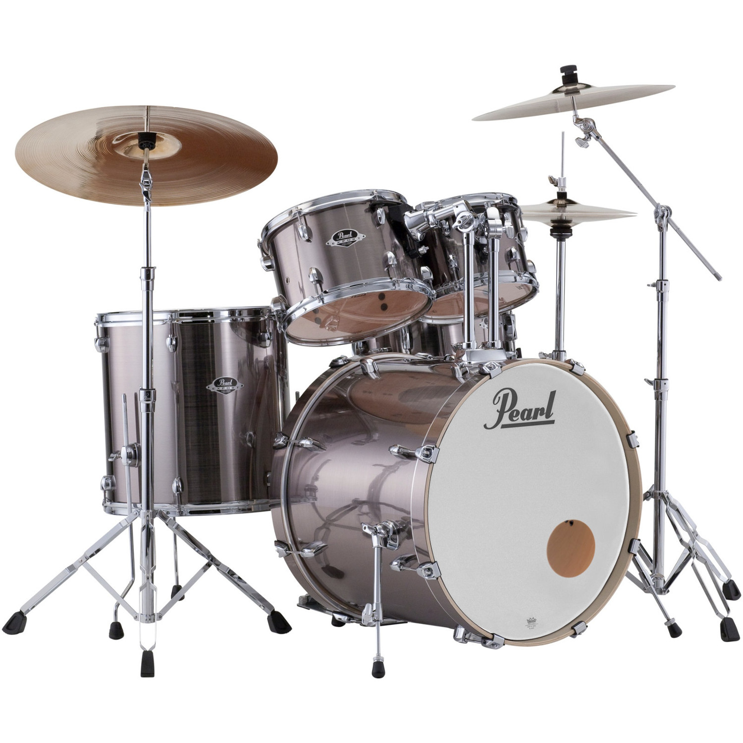 Pearl EXX725BR|C21 Export Smokey Chrome Export Smokey Chrome Drumset