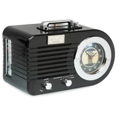 Ricatech PR220 Retro Radio, schwarz