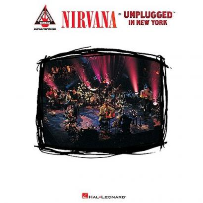 Hal Leonard - Nirvana - Unplugged in New York - Nirvana - Unplugged in New York - Songbook (englisch)