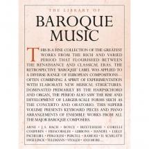 Wise Publications - The Library of Baroque Music - The Library of Baroque Music - Notenbuch f. Klavier/Flügel